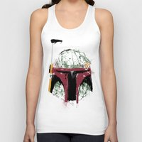 boba Tank Tops featuring Boba by Purple Cactus