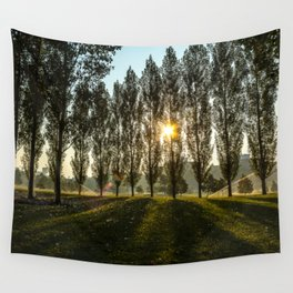 Penn State Sunrise Wall Tapestry
