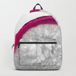 Pink Crystal Agate Backpack