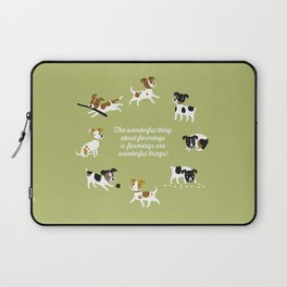 Farmdogs are wonderful things Laptop Sleeve