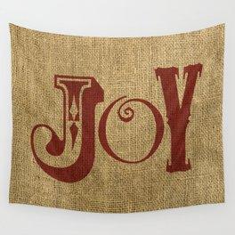 JOY + BURLAP Wall Tapestry