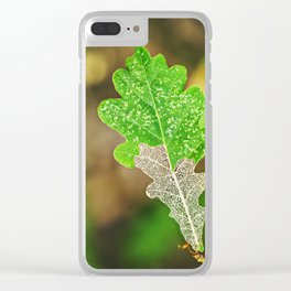 Nature, between life and death Clear iPhone Case