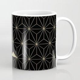 Gold Flower Geo Glam #1 #geometric #decor #art #society6 Coffee Mug