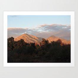 Near Sunset Art Print
