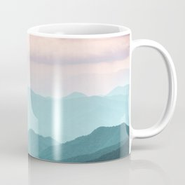 Smoky Mountain National Park Sunset Layers II - Nature Photography Coffee Mug