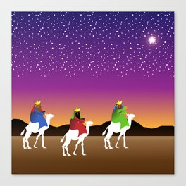 The Wise Men Canvas Print