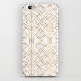 Golden Geo iPhone Skin