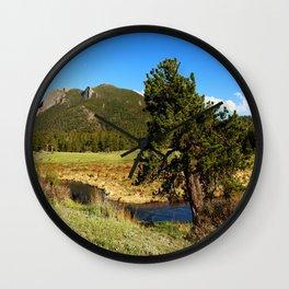 Along Fall River Wall Clock