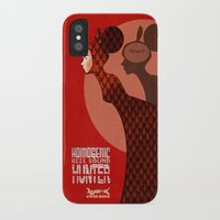 bjork iPhone & iPod Cases featuring Bjork by Martynas Juchnevicius