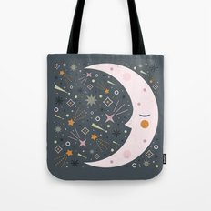 Mr Moon Tote Bag
