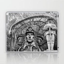 Landmarks 2 Black And White Laptop & iPad Skin