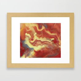 And Now I'm Nothing Framed Art Print