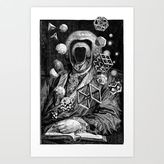 Polyhedra Art Print