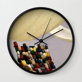 Tell Me Your Story (detail) Wall Clock