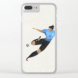cavani Clear iPhone Case