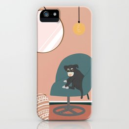 A day with my dog  iPhone Case