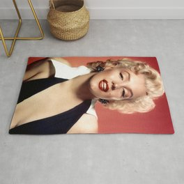 Marilyn Classic Photography Rug