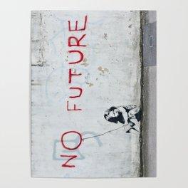 Banksy, No Future Poster