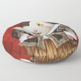 "William ""Haykespeare"" the Shakespearean Guinea Pig Floor Pillow"