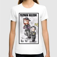 wwe T-shirts featuring WWE Chibi - Undertaker and Paul Bearer by Furiarossa