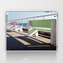 Beach Benches Laptop & iPad Skin