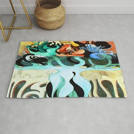 Jens Lund My Soul Floats on Perfume Rug