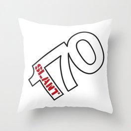 170 Slant 6 - Wedge Throw Pillow