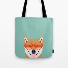 Shiba Inu Love - Gifts for pet owners dog person gifts shiba inu gifts customizable dog gifts cute Tote Bag