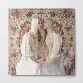 Twins (Reflections) Metal Print