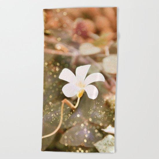 Pastel vibes floral III Beach Towel