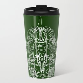 Hope (dark tee version) Metal Travel Mug