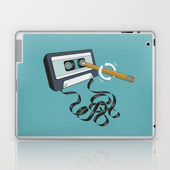 Back in the Day Laptop & iPad Skin