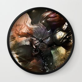 League of Legends WARWICK Wall Clock