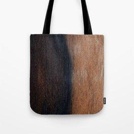 Walnut veneer brown design of wood Tote Bag