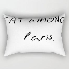 TATEMONO PARIS Rectangular Pillow
