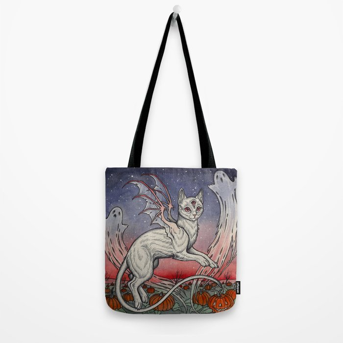 Spirits Of All Hallows Eve Tote Bag