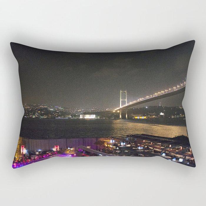 Istanbul Lights! Rectangular Pillow