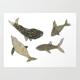 Big Fish Art Print