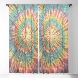 Tie Dye 19 Sheer Curtain