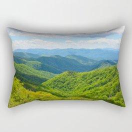 Smokey Mountain Summer Rectangular Pillow
