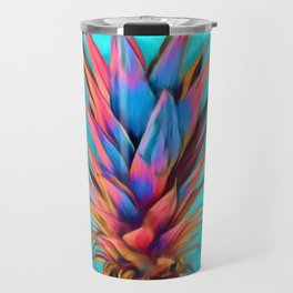 Colorful Pineapple, Ananas fruit Travel Mug