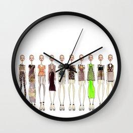 Organic Spectrum. Wall Clock