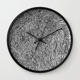 spaghetti texture Wall Clock