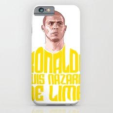 Ronaldo Name Yellow iPhone 6s Slim Case