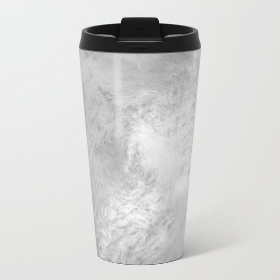 You Too Can Wear Fur! Metal Travel Mug