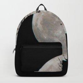 Halloween's Full Moon (Black and White) Backpack