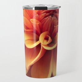 Dahlia design Travel Mug