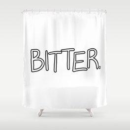 Bitter Shower Curtain