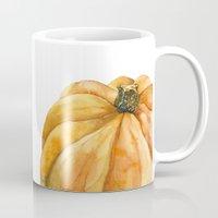 pumpkin Mugs featuring Pumpkin by Cindy Lou Bailey