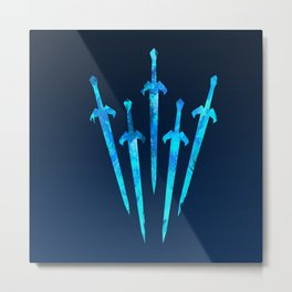 Summoned Swords Metal Print